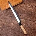 Бесплатная доставка YILang кухонный нож из нержавеющей стали Sashimi нож для лосося шеф-повара сырой Филейный Нож для рыбы Sashayed кухонные ножи для ...
