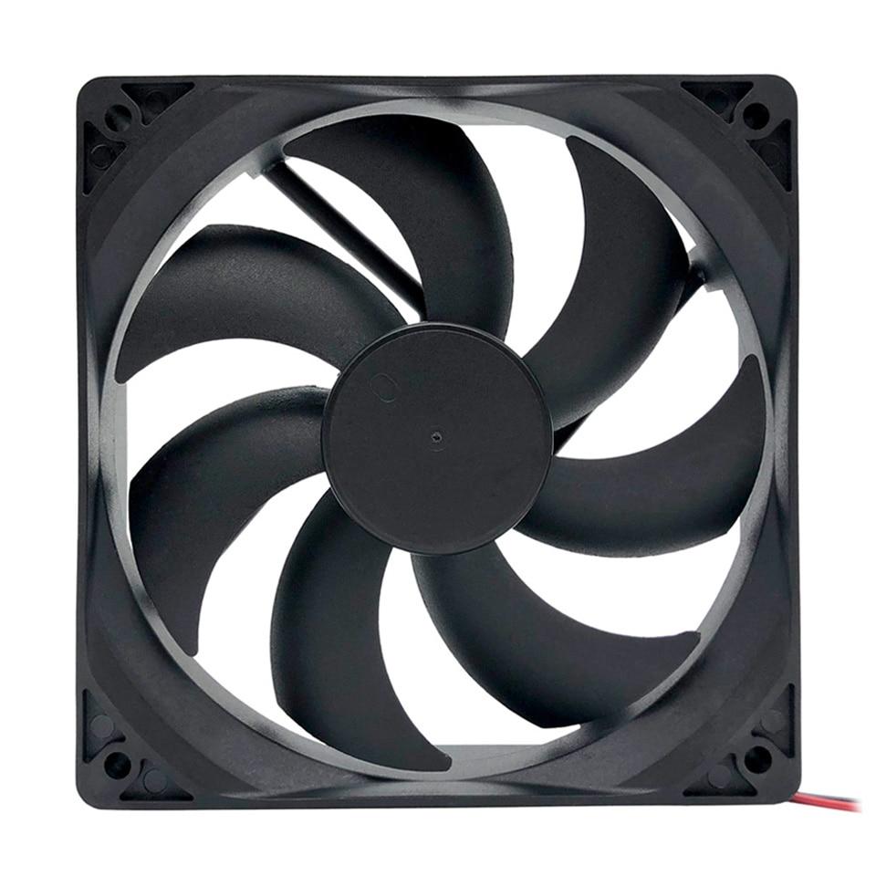 TOP F12025 120mm Computer Cooling Fan 12V Desktop PC Case Fan Cooler 4-Pin Fan Connector For Computer Case/ Power Supply