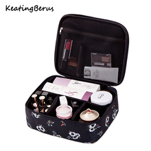 Multifunction Waterproof Portable Cosmetic Bag Organizer Big capacity Women Travel Necessity Beauty Makeup