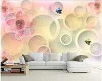 Personnalisé 3D grande fresque, dessinés À La Main motif de moderne simple papier peint, salon canapé TV mur chambre mur papier
