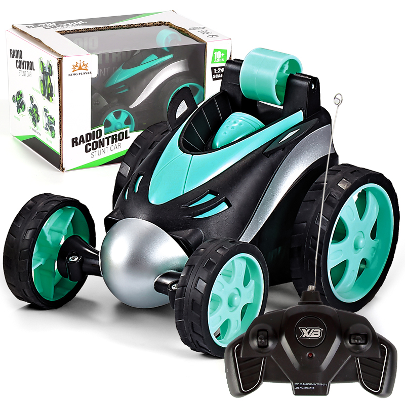 Tool Sets Wireless Rc Car Tumbling Stunt Dump Truck Remote Control Toys For Children Electric Cool Rc Cars Boy Birthday Best Gifts Preventing Hairs From Graying And Helpful To Retain Complexion