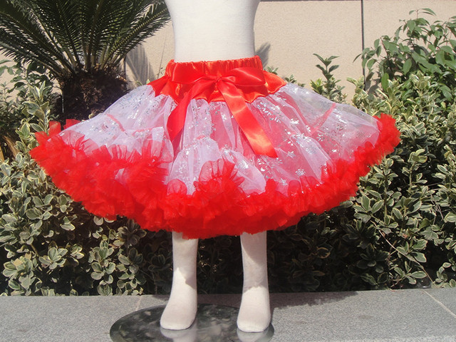 new baby girl Frozenskirt Elsa toddler baby ruffle tulle pettiskirt child bow skirt kid skirt for birthday party PETS-170