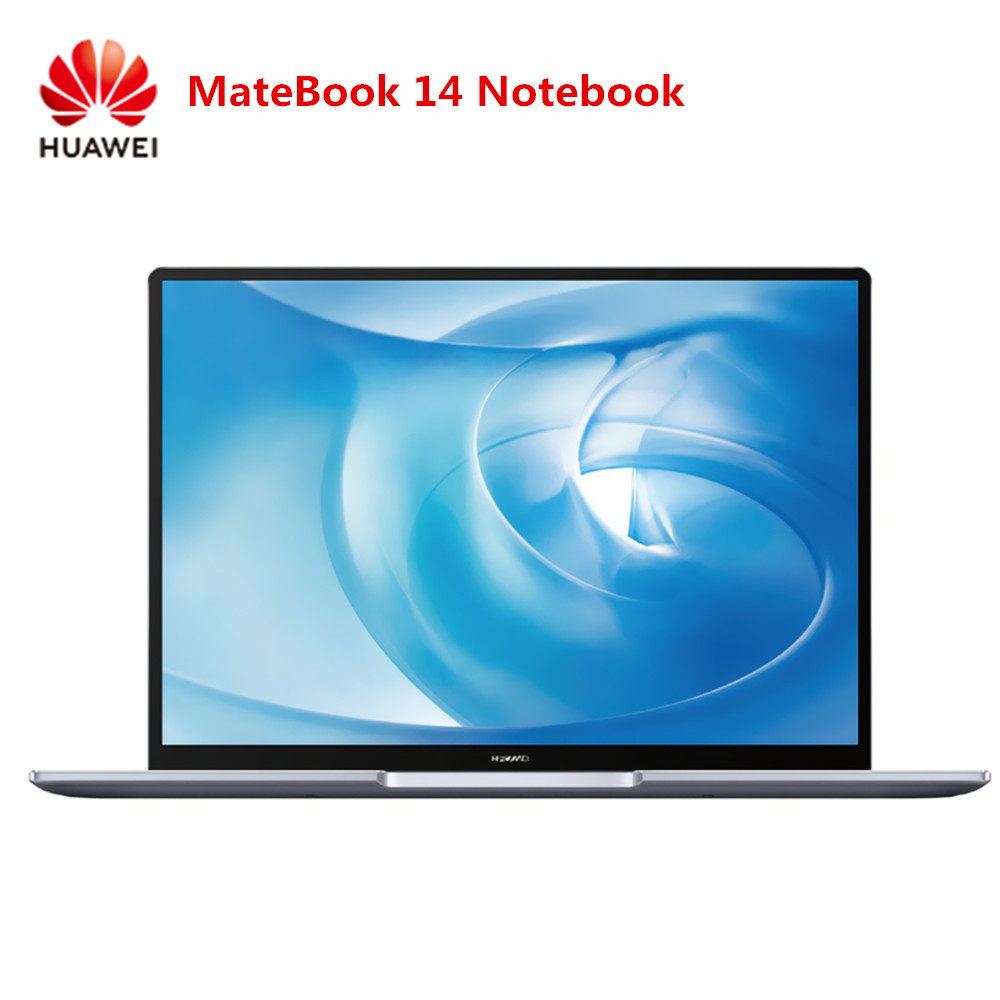 HUAWEI MateBook 14 Notebook 14 Inch Windows 10 Home I5-8265U / I7-8565U Quad Core 8GB RAM 512GB SSD Fingerprint Sensor Laptop