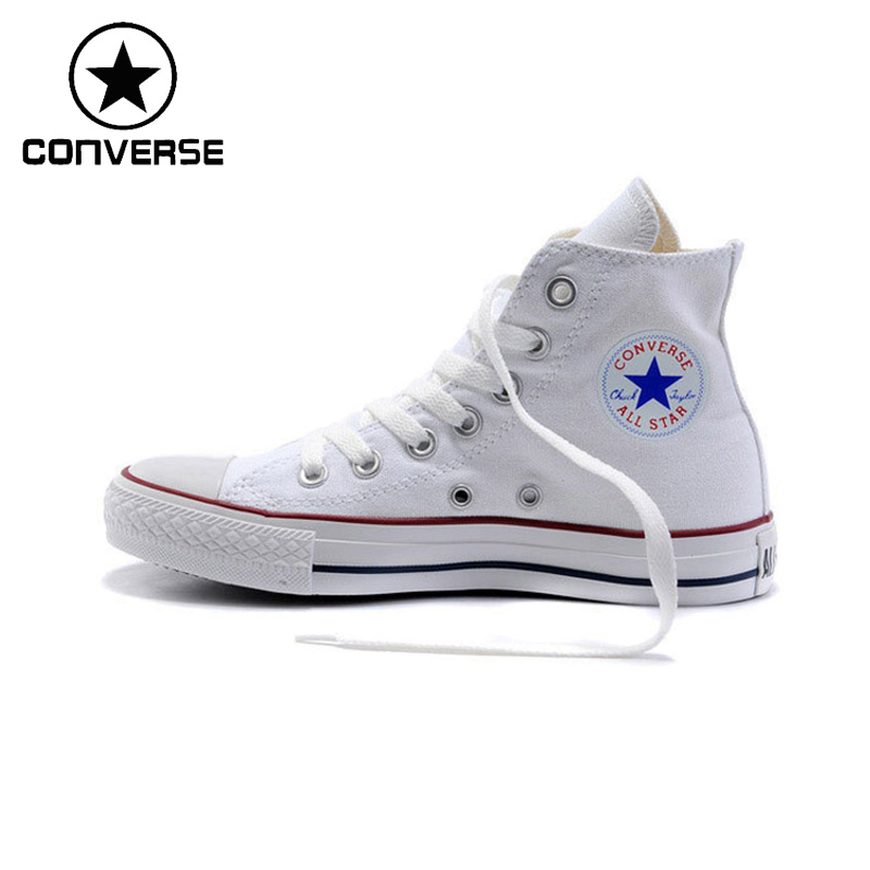 New Arrival Original Converse Classic Unisex Canvas Skateboarding Shoes High top Anti-Slippery Sneaksers Classique original new arrival converse unisex high top skateboarding shoes canvas sneakers