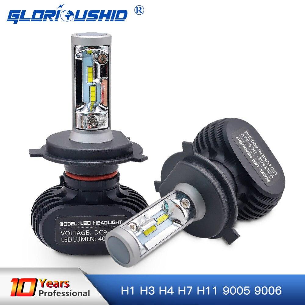 H7 LED H4 H1 H3 H8 H9 H11 9006 9005 Auto Car Headlight Bulb CSP Chip 50W 8000LM Automobile Headlamp Fog Light 6500K Led Lamp 12V