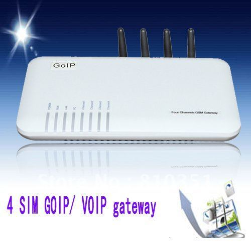 Wholesale new 4 channels GSM  gateway  IMEI change