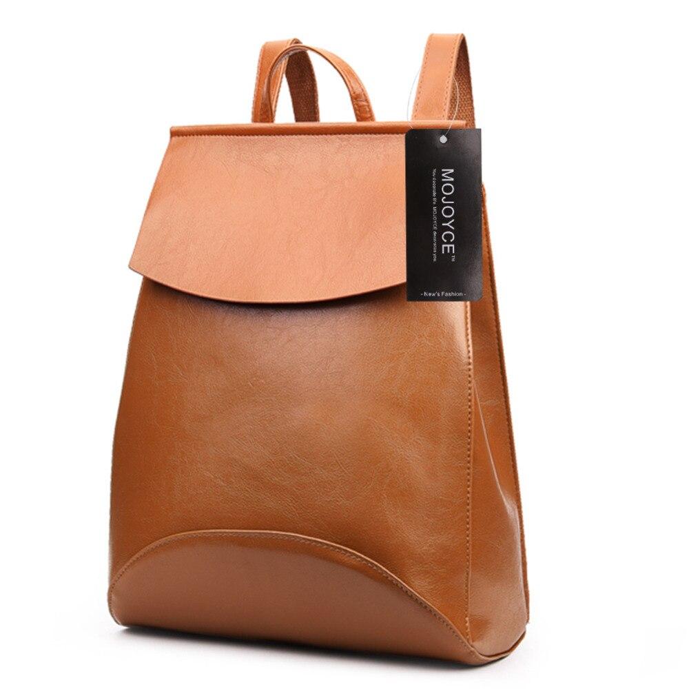 Vintage bolsos koreai stílusú nők bőr hátizsák női táska hátizsák vízálló iskolatáskák a nők bolsos mochila mujer
