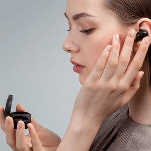 Image 4 - Xiao mi Red mi Airdots TWS słuchawki Bluetooth wersja młodzieżowa Stereo mi mi ni bezprzewodowy zestaw słuchawkowy Bluetooth 5.0 zestaw słuchawkowy z mikrofonem słuchawki douszne