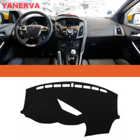 Interior Car Dashboard Cover Light Avoid Pad Photophobism Mat Sticker For Ford Focus ST