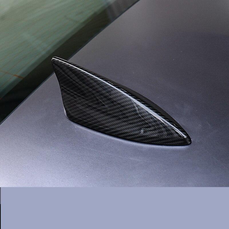 QHCP углеродное волокно 1 шт. Авто крыша плавник акулы украшение для антенны наклейки для LEXUS IS200T 250 RC200 300 автомобильный Стайлинг авто аксессуа... - 3