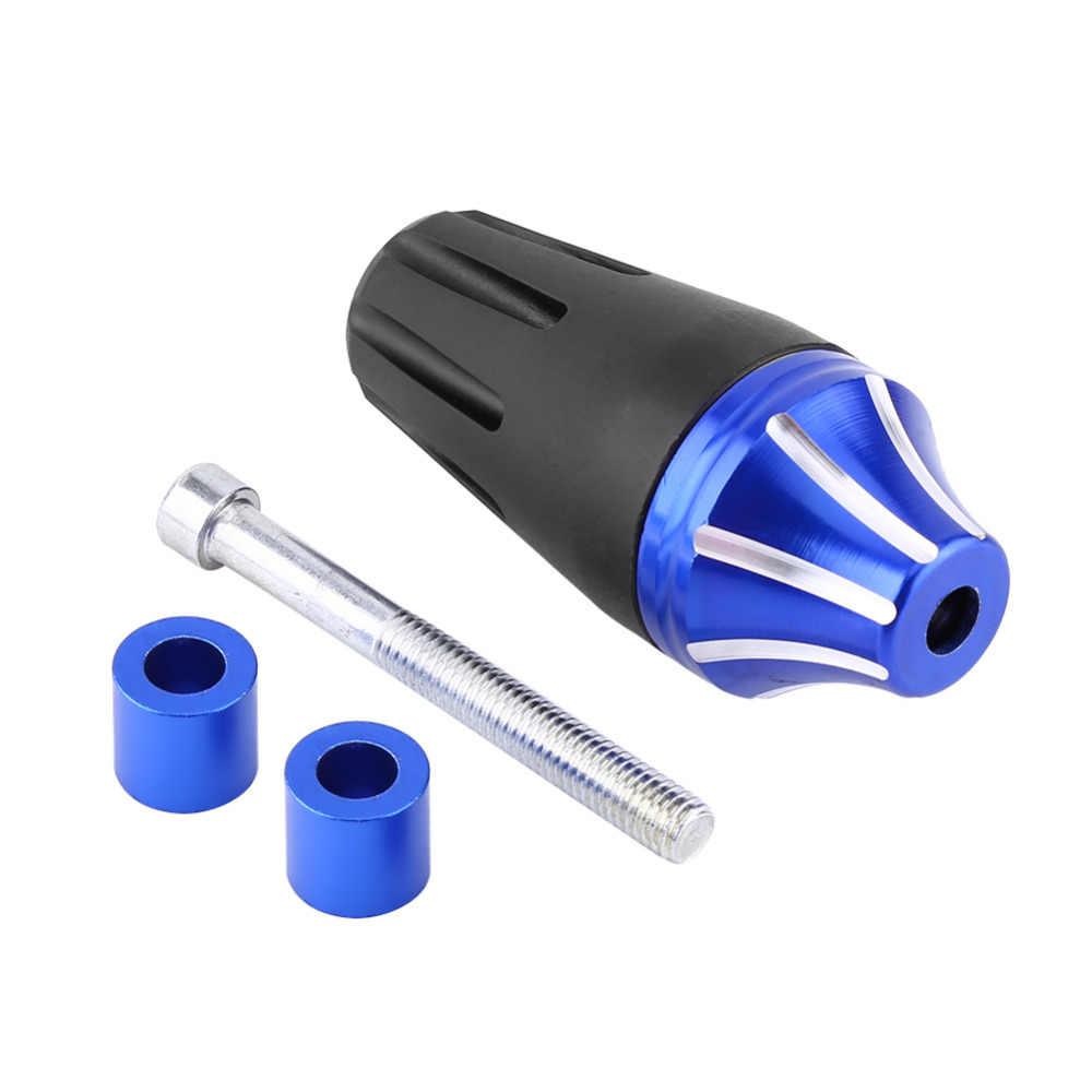 Red Protector contra choques deslizador de marco de aleaci/ón de aluminio CNC para motocicleta Protector contra choques que cae Protecci/ón del motor