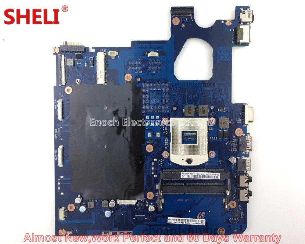 цена SHELI For Samsung 300E5C NP300E5C Series Laptop Motherboard BA92-11486A BA92-11486B SCALA3-15/17CRV BA41-01979A Work Perfect