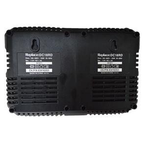 Image 5 - סוללה כפולה מטען לקיטה 14.4V 18V BL1830 Bl1430 DC18RC DC18RA האיחוד האירופי Plug