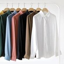 Dioufond Work Chiffon Shirts Women White Ladies Office Tops Formal Chiffon Blouses Plus Size Female Blusas Summer Autumn 2018