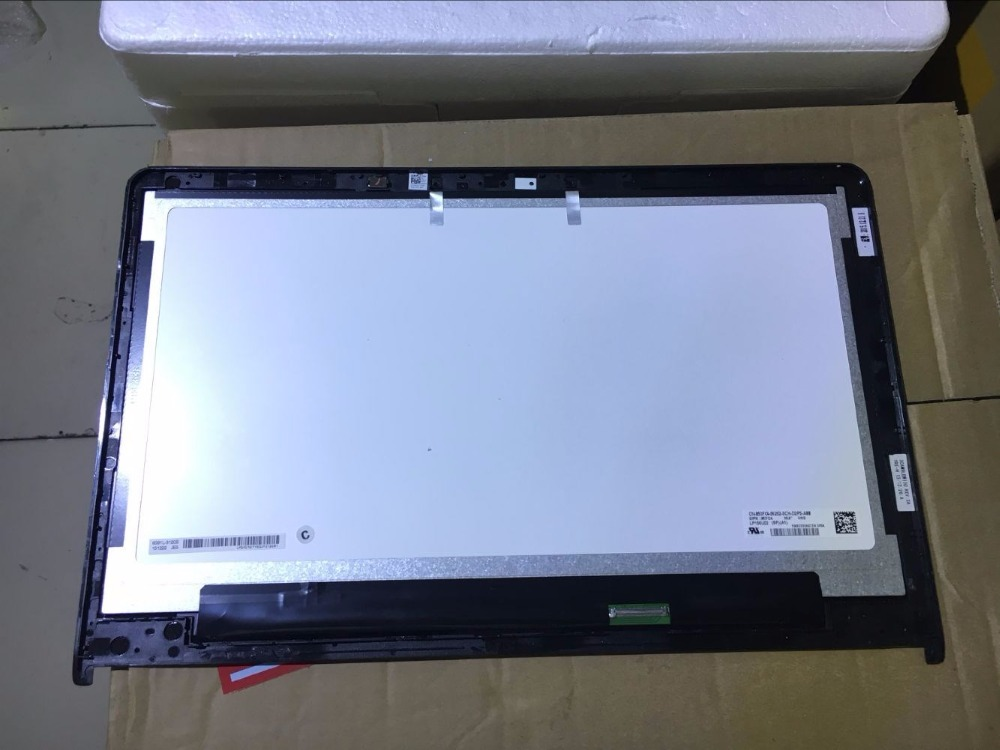 4K 15.6 inch LCD Screen For Dell Inspiron 15 7559 7557 LCD Touch Digitizer Assembly LP156UD2-SPA2 3840*2160 with Frame Display free shipping n156bgn e41 nt156whm t00 40pins edp lcd screen panel touch displayfor dell inspiron 15 5558 vostro 15 3558 jj45k
