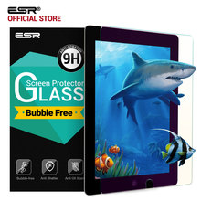 Screen Protector for iPad Pro 10.5 , ESR 0.33mm Anti Blue-ray Tempered Glass Film with Free Applicator for iPad Pro 10.5 inches