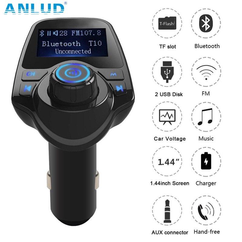 Juhtmevaba Bluetooth-autokomplekt Vabakäeseade FM-saatja - Autode Elektroonika - Foto 2