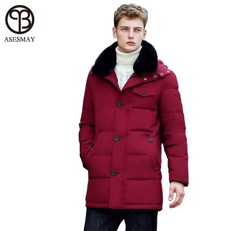 Asesmay 2016 Brand Clothing Mens Winter Jackets And Coats