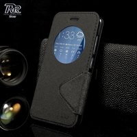ROAR KOREA For Asus ZE520KL Phone Bag View Window Magnetic PU Leather Stand Cover For Asus