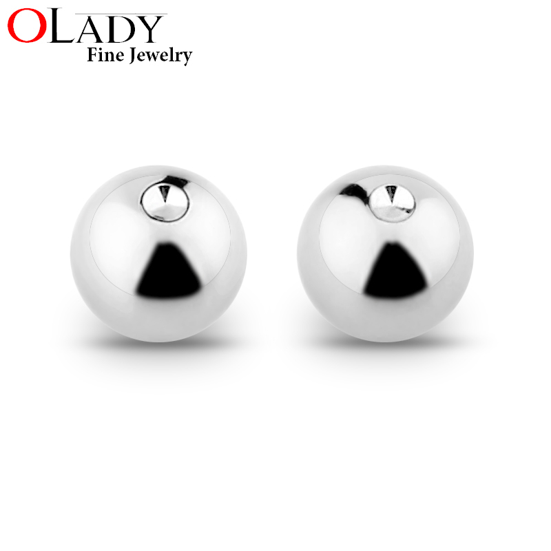 "14g 3//4/"" Steel Captive Bead Ring 5MM Bead Ear Earring Nipple You Choose Quantity"