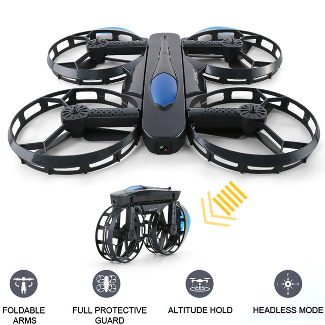 INKPOT H45 BOGIE Wheel-shaped 720P WiFi FPV Selfie Drone With High Hold Mode Foldable Arm RC Quadcopter Kids Toys