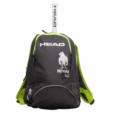 New Arrival Original HEAD Brand Djokovic style backup New Back Pack children Tennis Bag for 1-2 pieces  Raquete De Tenis