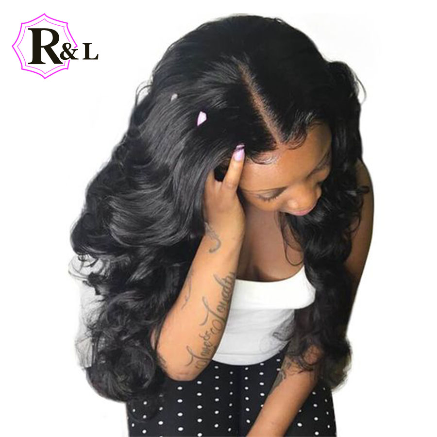 RULINDA 13 6 Deep Part Body Wave Lace Front Human Hair Wigs With Baby Hair Brazilian