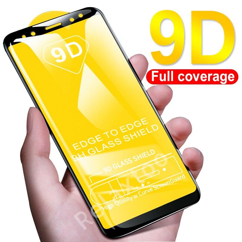 9D Full Cover For Xiaomi Mi A2 Lite Pcocphone F1 Case Tempered Glass Xiomi Mi 8 Lite 6 A1 A2 6x Mix 2 2s Screen Protective Film