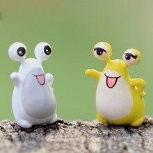 Slug microlandscape Decorating kids birthday party gifts little yellow Lovely slug snail DIY bonsai