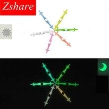 Silicone Light up Fashion Luminous Shoelaces Flash Party Glowing Shoe Lace Shoestrings Lazy No Tie Shoeslace 12 pcs/Set  L3