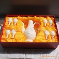Manufacturers supply nine Diao bone china handmade white wine Specials large favorably