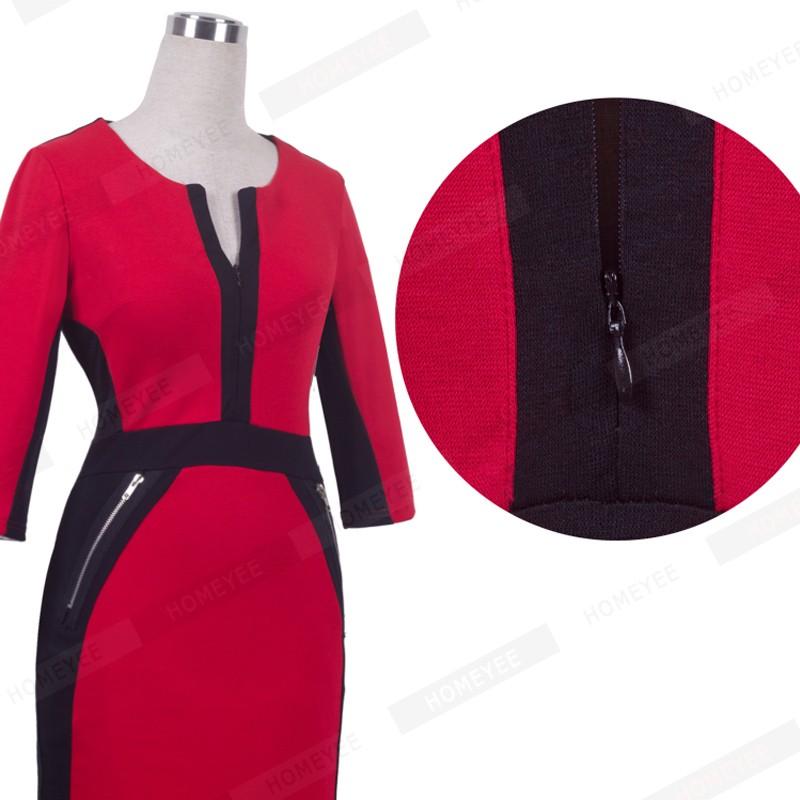 Plus Size Elegant Bodycon Pencil dress 35