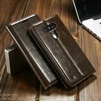 Dla LG Przypadku G5 Superior Oryginalny CaseMe Luksusowy Skórzany Portfel stań etui na Telefony komórkowe Dla LG G5 Odwróć Pokrywę Fundas akcesoria