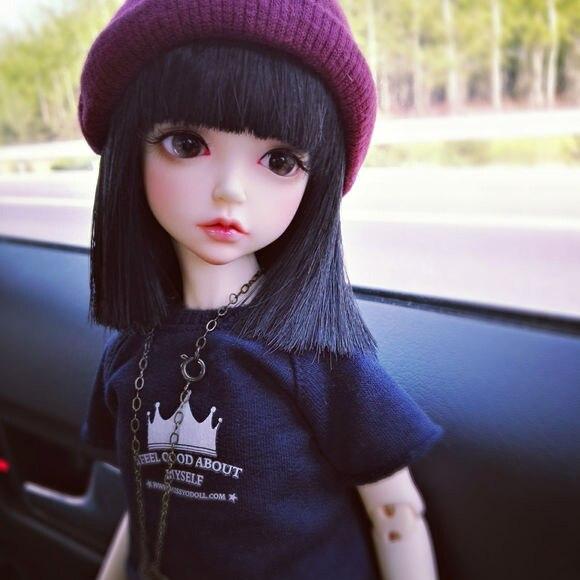 sd moda adorável boneca para meninas presente de aniversário