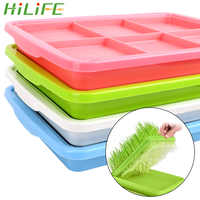 HILIFE Home Garden Growing Wheat seedlings Nursery Pots 1 piece Planting Dishes Double Layer Bean Sprouts Plate Seedling Tray