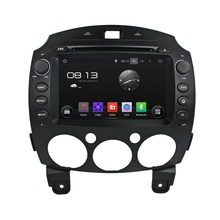 android 7.1.1 HD 1024*600 car dvd player gps for MAZDA 2 2010-2012 autoradio 3G wifi dvr navigation free map and camera headunit