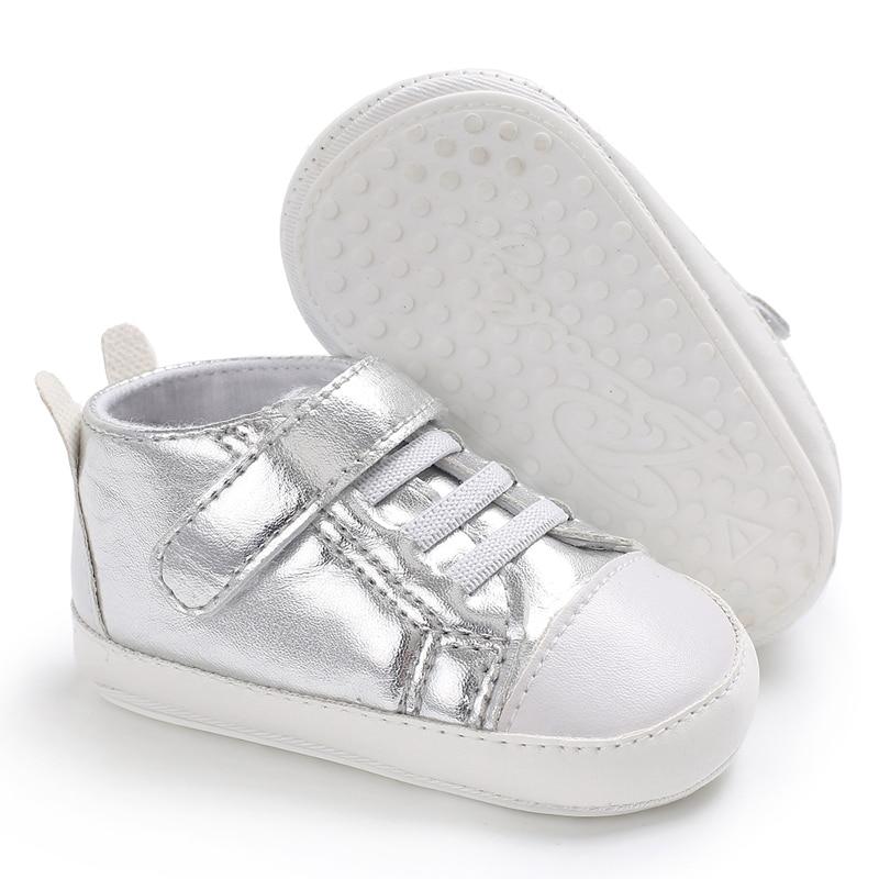Hard Rubber Bottom Baby Shoes Niemowlęcy spacerowicze Moda PU Skóra - Buty dziecięce - Zdjęcie 4