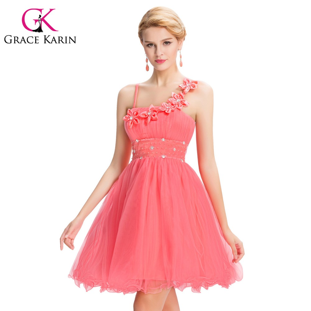 Short Puffy Prom Dresses With Straps 47