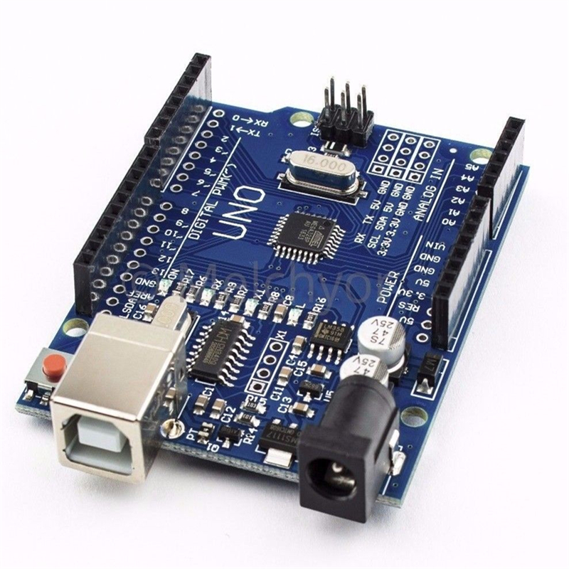 ShenzhenMaker with Electronics UNO R3 Mega328P CH340G Development Board for arduino