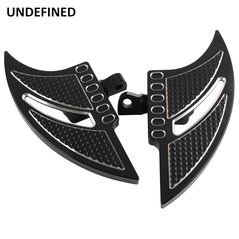 Motorcycle Front Foot Pegs Pedals Driver Stretched Footboard Footrest for Harley Touring FLH Electra Glide Fatboy FLSTF Dyna FXDMotorcycle Front Foot Pegs Pedals Driver Stretched Footboard Footrest for Harley Touring FLH Electra Glide Fatboy FLSTF Dyna FXD