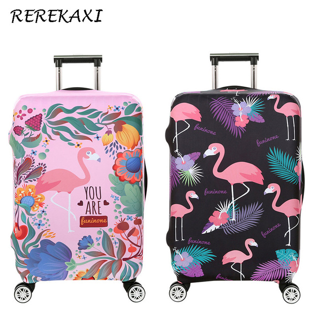 REREKAXI High Quality Luggage Cover Travel Accessories For 18-32 Inch Suitcase Elastic Protective Cover Trolley Case Covers