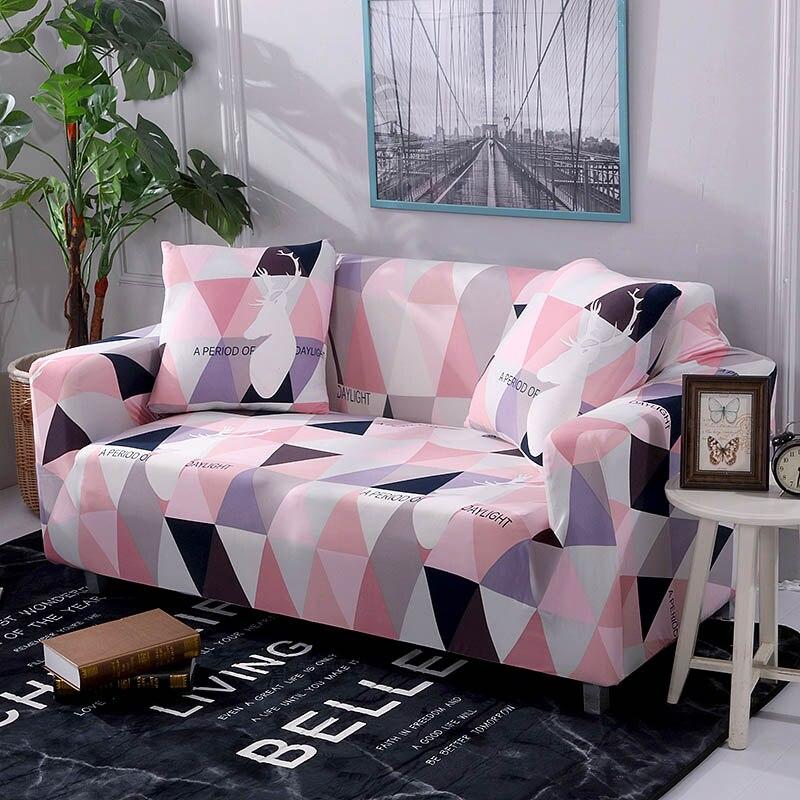 Plaid Sofa Abdeckung Stretch Möbel Abdeckungen Elastische Sofa ...