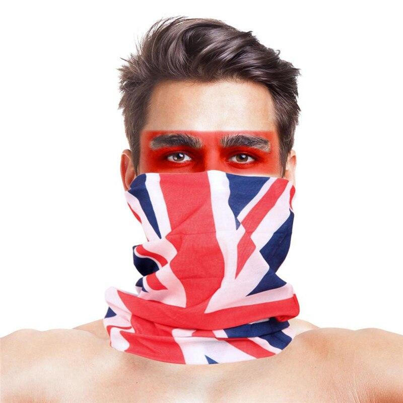 3D листья носовые платки с принтами Для женщин шарф полиэстер микрофибра шеи маска для лица бандана Для мужчин повязка-труба платок - Цвет: 048
