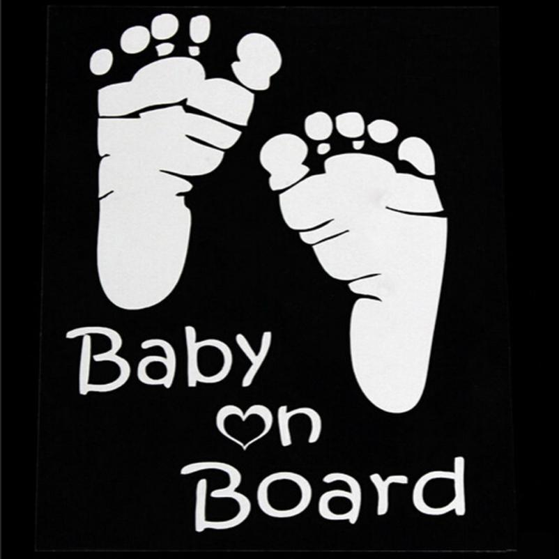 Popular Baby On Board Vinyl Car Graphics Window Vehicle Sticker Decal Decor Auto Drop shipping5.22/35%