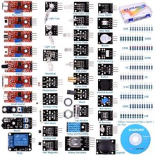 Miroad 37 Sensor Module The Starter Kit Robot Projects for Arduino Uno R3 Raspberry Pi 3 2 Mega Due Nano Arduino rogramming K5