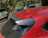 Carbon Fiber ABS REAR WING TRUNK SPOILER FOR 14 18 MAZDA 3 AXELA Hatchback 2014 2015 2016 2017 2018 2019 BY EMS