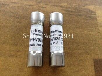 [ZOB] Imported Littelfuse Lite OHEV020.SXC fuse fuse 450VDC10X38 20A  --10PCS/LOT