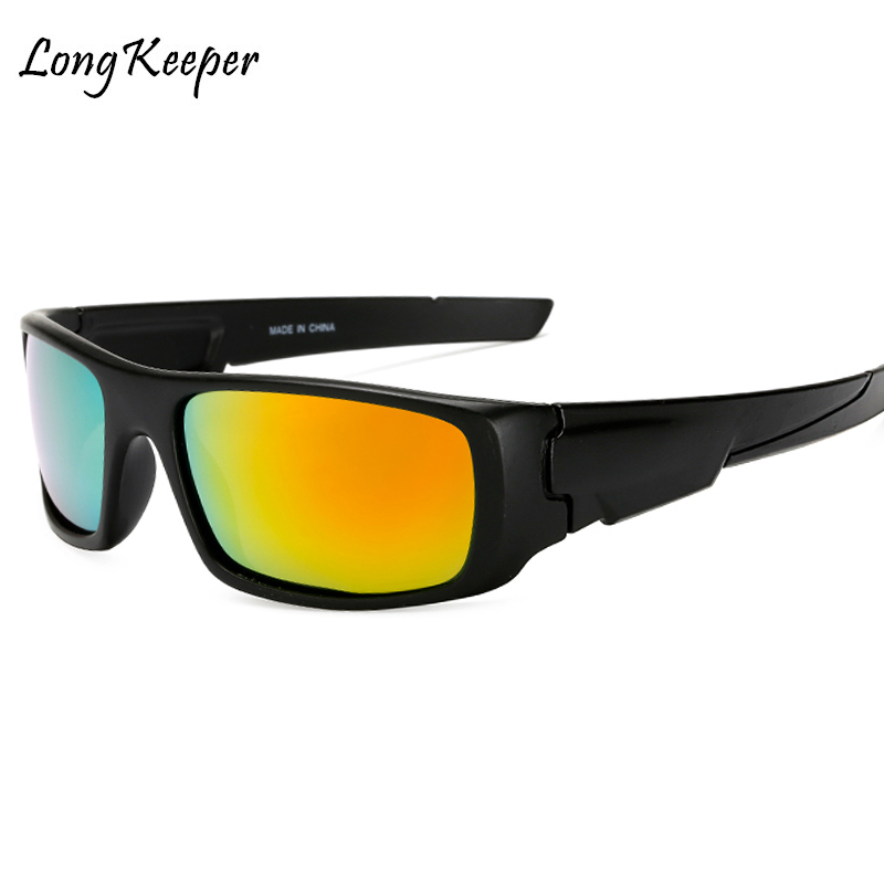 Long Keeper Men's Polarized Solglasögon Night Vision Yellow Lens - Kläder tillbehör - Foto 2