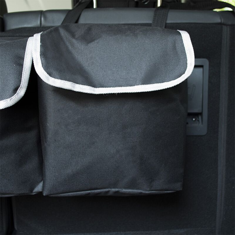 Image 2 - Oxford Cloth Suv Car Trunk Storage Storage Bag Multi Purpose Car Seat Back Hanging Bag Car Folding Debris Storage Back Trunk Bag-in Stowing Tidying from Automobiles & Motorcycles
