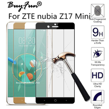 3D Full Tempered Glass For ZTE Nubia Z17Mini Cover Screen Protector For ZTE Z17 Mini 5.2''Glass Phone Protective Film Case Cover